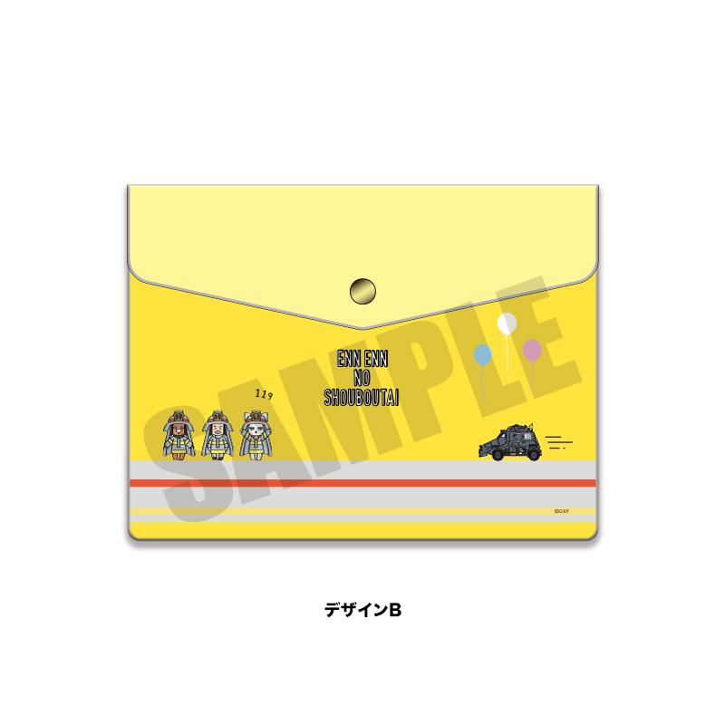 <予約>「炎炎ノ消防隊」プレイピー エンベロップケース