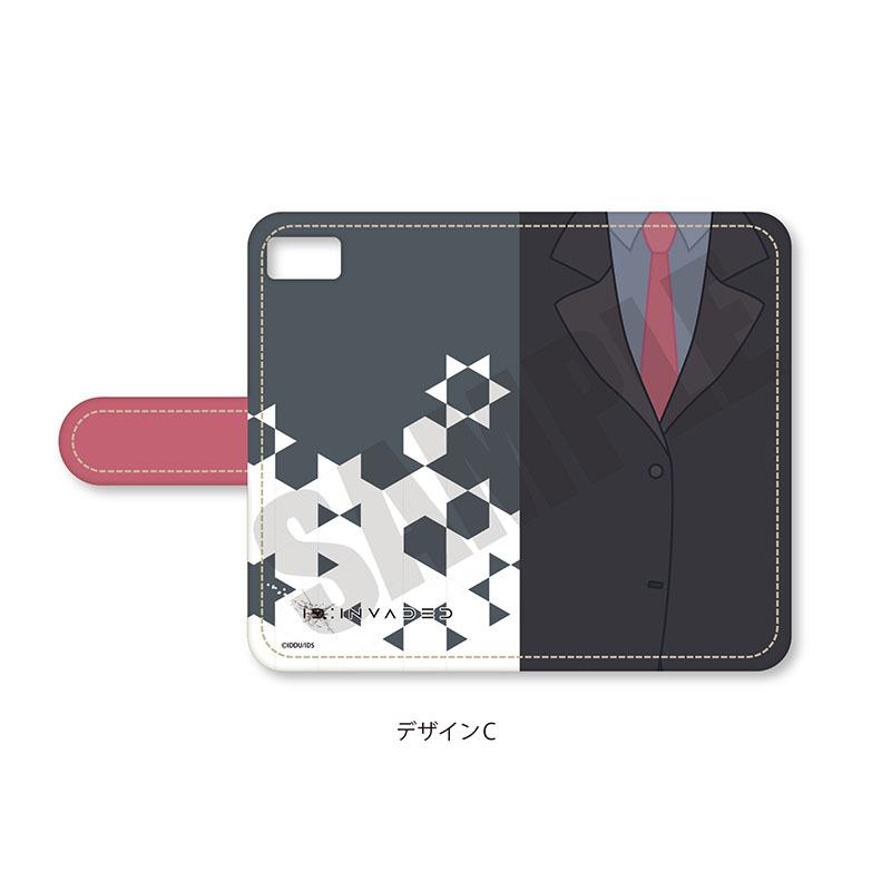 「ID:INVADED イド:インヴェイデッド」 手帳型iPhoneケース
