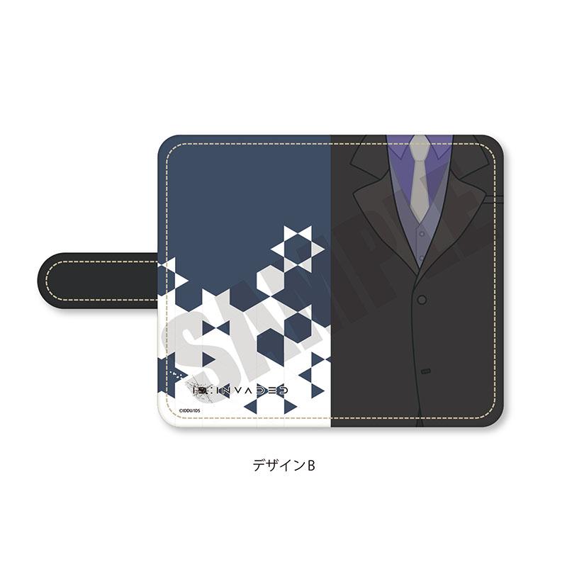 「ID:INVADED イド:インヴェイデッド」 手帳型マルチタイプスマホケース