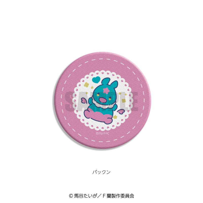 <予約>「Fairy蘭丸~あなたの心お助けします~」レザーバッジ×れとぽぷ