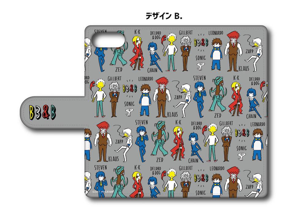 「血界戦線 & BEYOND」プレイピー 手帳型iPhoneケース デザインB