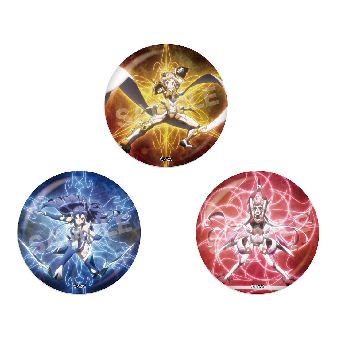 <予約>「戦姫絶唱シンフォギアXV」メタリック缶バッジ 第1弾 BOX(全6種) (IC)