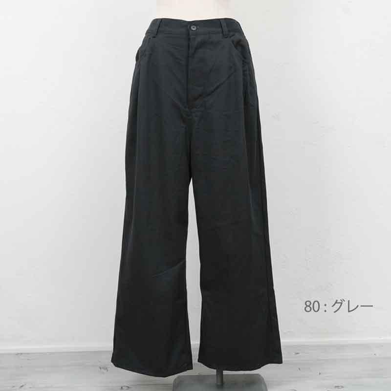 ≪SALE・20パーセントオフ≫ YARRA (ヤラ) ポケットタックパンツ
