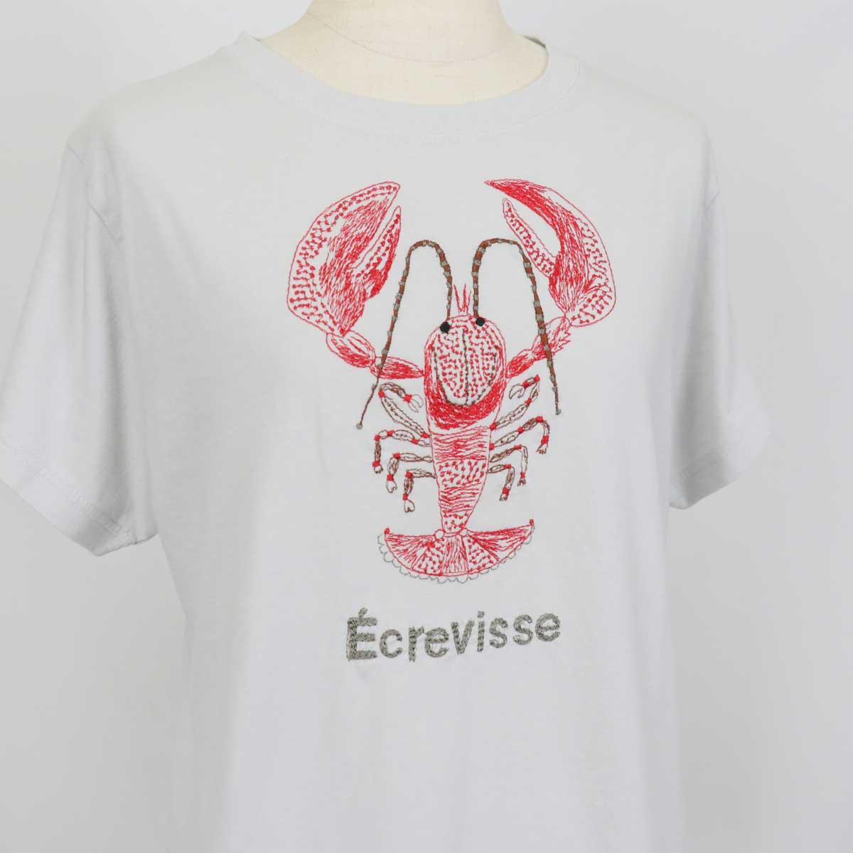 ≪SALE・20パーセントオフ≫marble sud マーブルシュッド Tシャツ EMSザリガニ S/S TEE