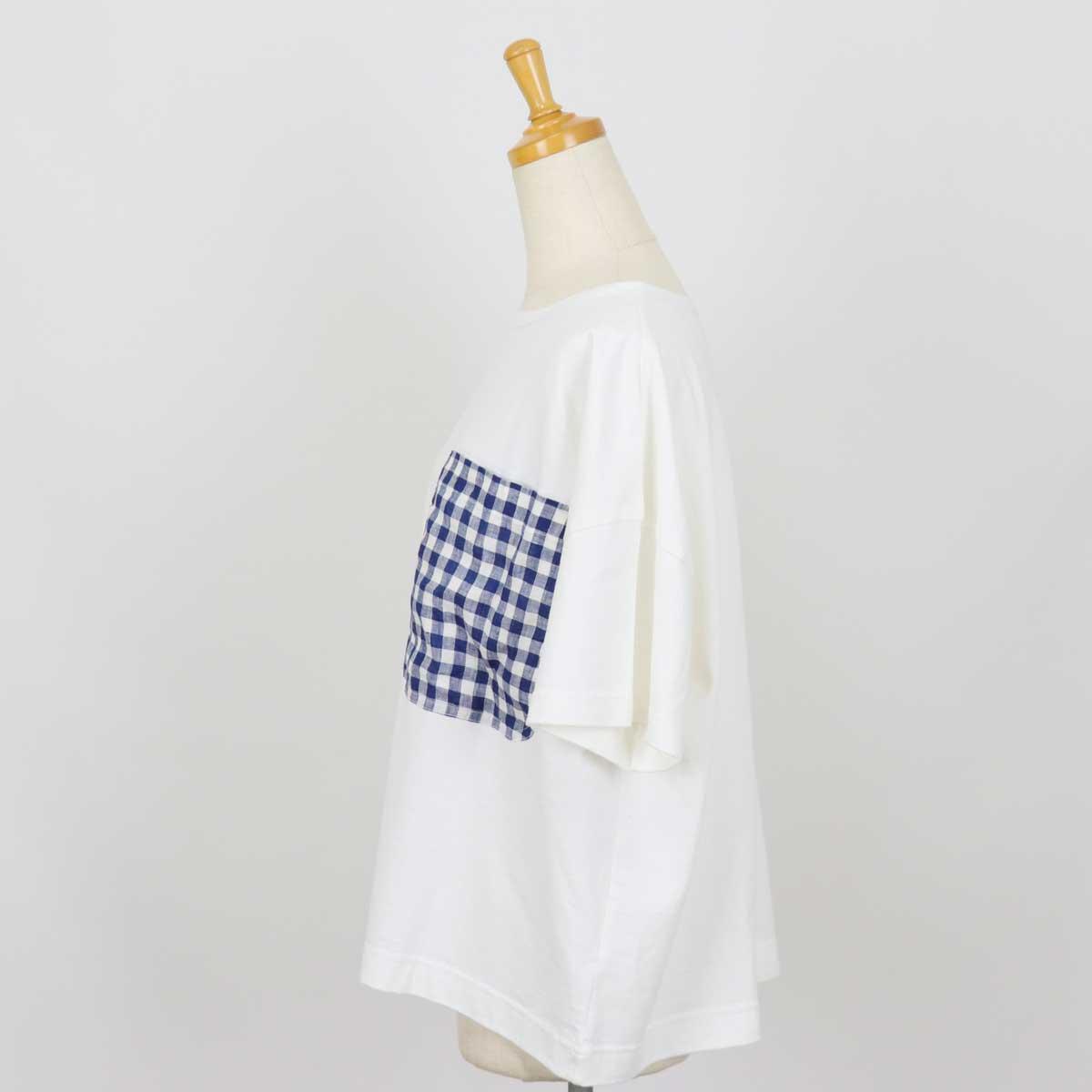 CLIP.TAB クリップタブ Tシャツ リネンckポケットT