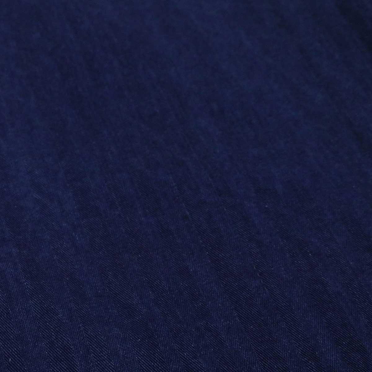 ≪SALE・20パーセントオフ≫ ESTROISLOSE エストゥロワルーズ インディゴ へリンボン ワイドパンツ