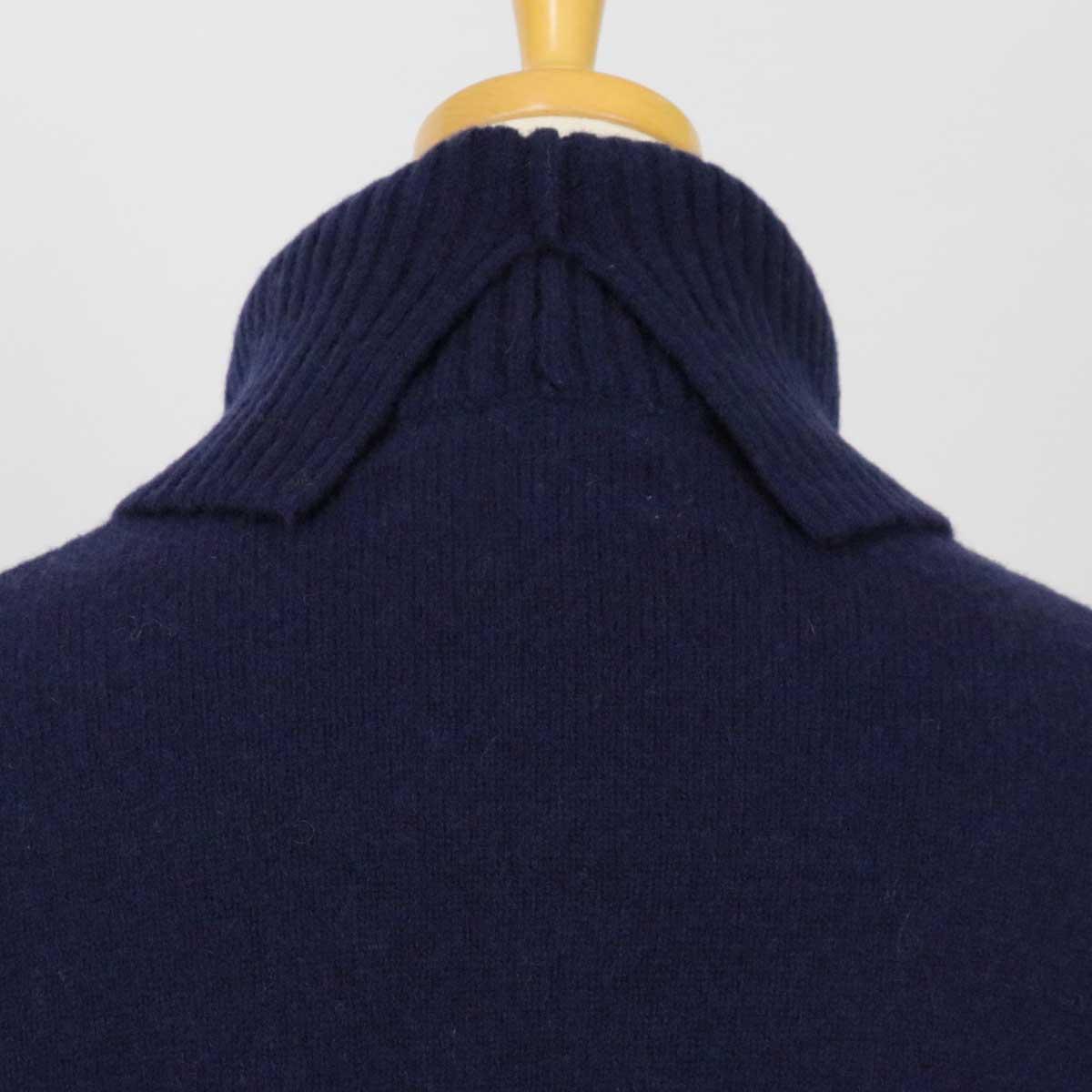 NATURAL LAUNDRY ナチュラルランドリー ラムウール 縮絨 チュニック セーター