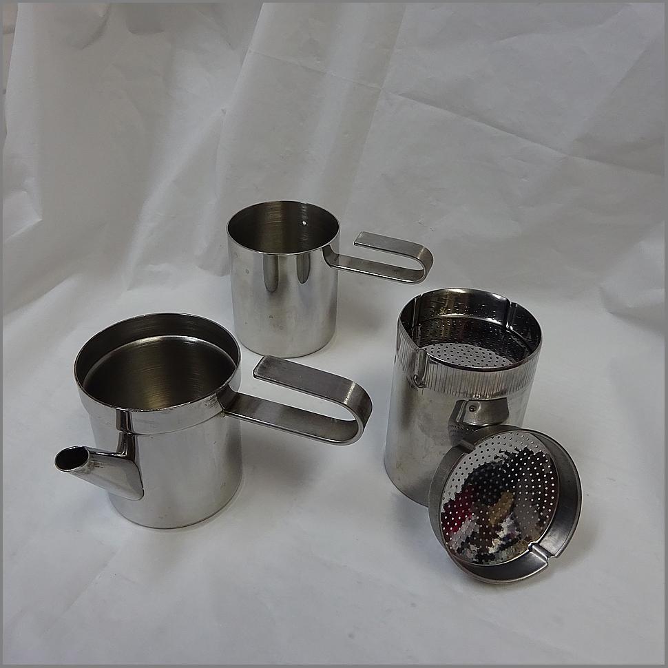 3cup ステラ STELLA<BR>naporetana ナポレターナ<BR>直火 エスプレッソ<BR>コーヒーメーカー<BR>コーヒー キャンプ