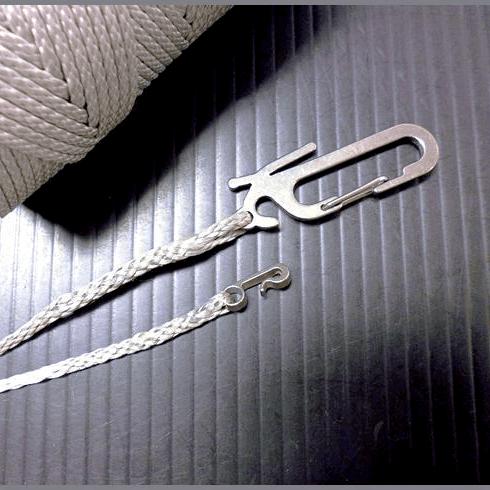 【送料無料】 LASH-IT!™ 1.75mm Gray (6m/20FEET)  / ダイニーマ ガイライン