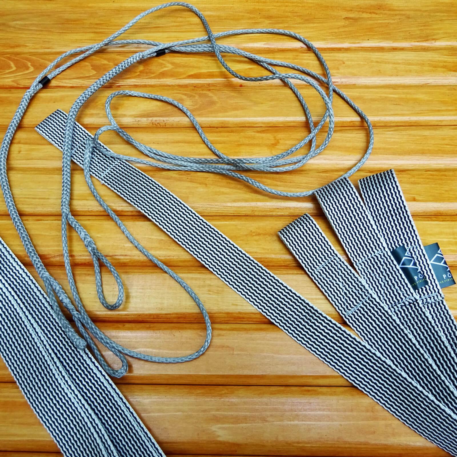 【送料無料】 TREE STRAPS for Hammocker [UHMWPE×PP] / ハンモック用 ツリーストラップ ダイニーマ×PP
