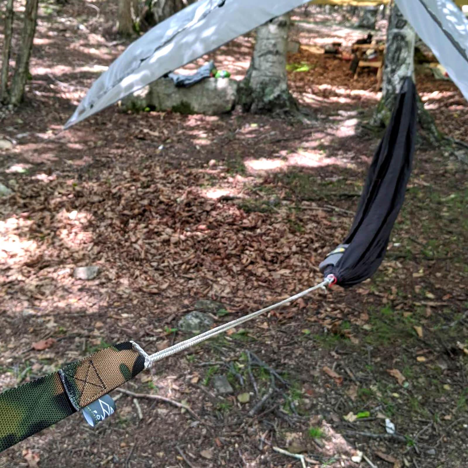 【送料無料】 TREE STRAPS for Hammocker [CAMO WEBBING] / ハンモック用 ツリーストラップ 迷彩ウェビング