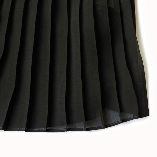 セール 30%OFF 返品・交換不可 Dot and Stripes ドットアンドストライプス シフォンプリーツ パフスリーブブラウス 2020 Spring Collection 1101BL009201