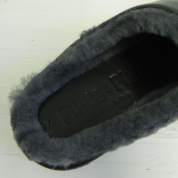 Punto Pigro プントピグロ MOUTON SLIPPER WITH CREPE 送料無料 2019 FALL/WINTER NPP1853