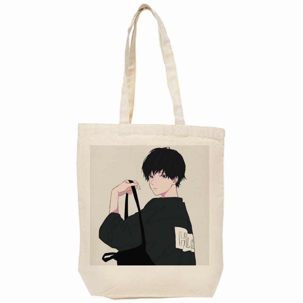 niki様×ぽっぷこーんミュージアム限定のトートバッグ