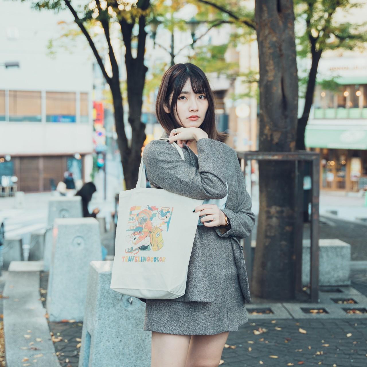 雨宮透様×ぽっぷこーんミュージアム限定のトートバッグ