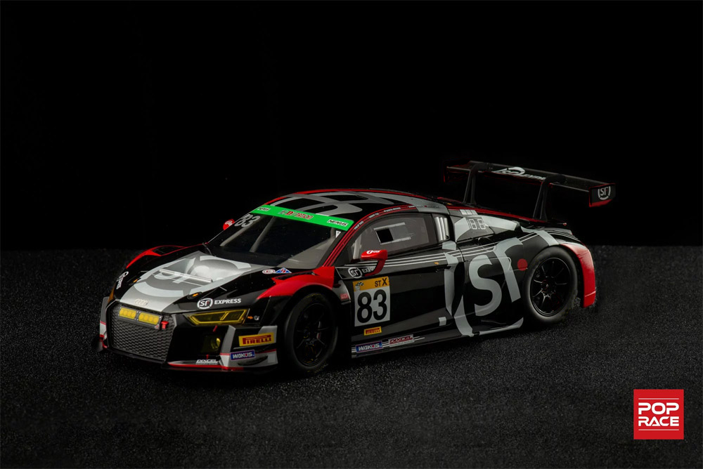 1/64 Audi R8 LMS 2019 Fuji Super Tec 24 Hours X Works Racing #83 アウディ R8 LMS 2019 富士SUPER TEC 24時間レース