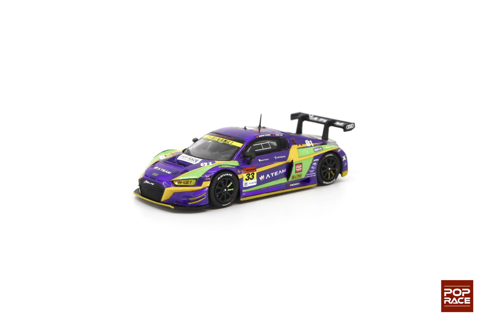 1/64 Evangelion Racing Test Unit-01 X works Audi R8 Super GT 2020 #33 エヴァ RT 初号機 X Works R8