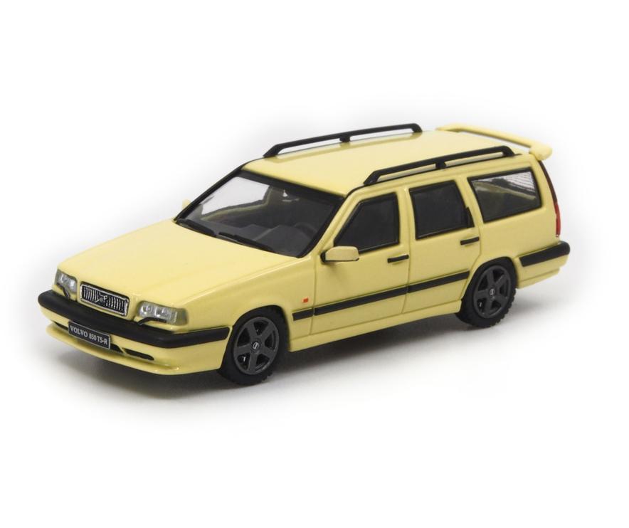 1/64 Volvo 850 T5-R Estate Cream Yellow ボルボ 850 T-5R エステート クリームイエロー