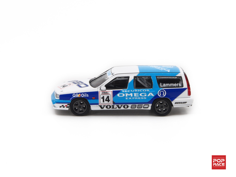 1/64 Volvo 850 Estate BTCC 1994 #14 Volvo 850 Racing Jan Lammers ボルボ 850 T-5R エステート イギリスツーリングカー選手権1994 #14