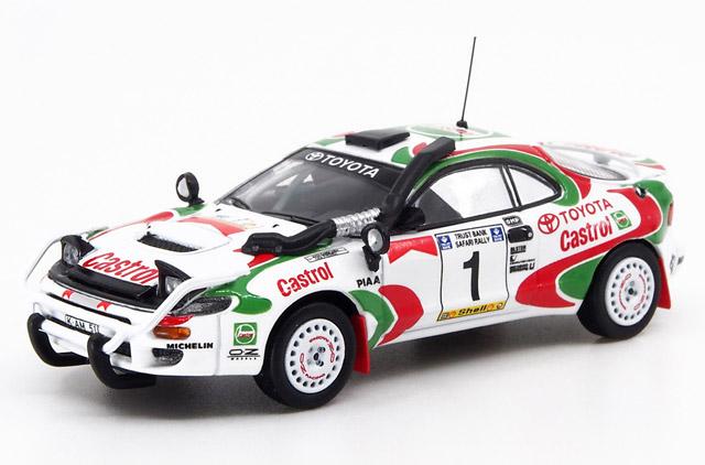 1/64 Toyota Celica GT-Four ST185 Safari Rally 1993 Winner #1 Juha Kankkunen/ Juha Piironen トヨタ セリカ サファリ ラリー 1993 優勝車