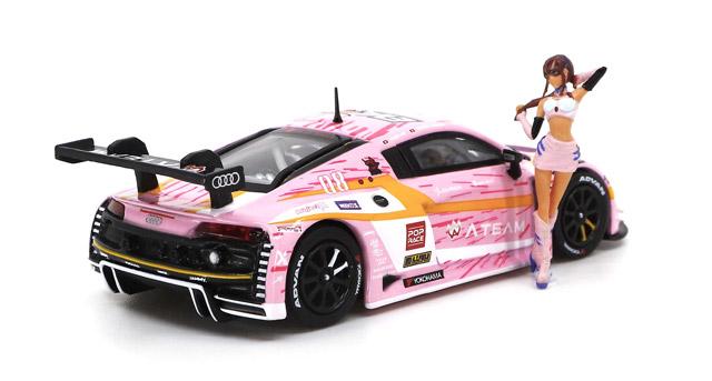1/64 Audi R8 LMS エヴァ RT 正規実用型(ヴィレカスタム) 8号機 X Works 真希波・マリ フィギュア セット