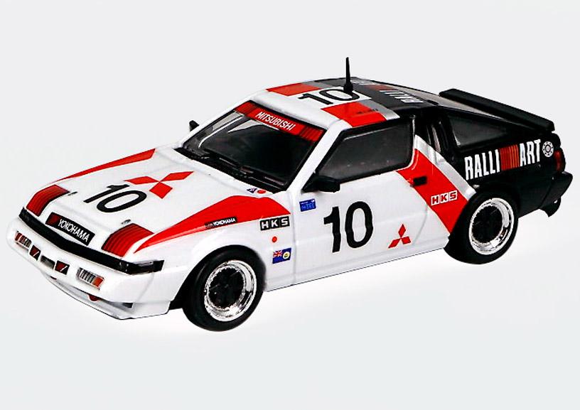 1/64 Mitsubishi Starion 1985 Guia Race Starion (A183A) #10 Michael Lieu 三菱 スタリオン 1985年