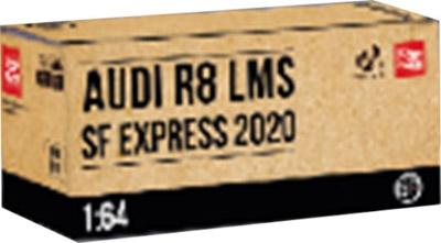 1/64 Audi R8 LMS SF Express 2020 アウディ R8 LMS SFエクスプレス《予約4月》