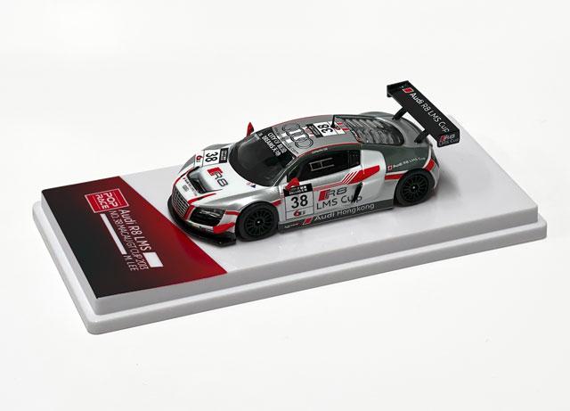 1/64 【台座付限定版】Audi R8 LMS Macau GT Cup 2013 Marchy Lee #38 アウディ R8