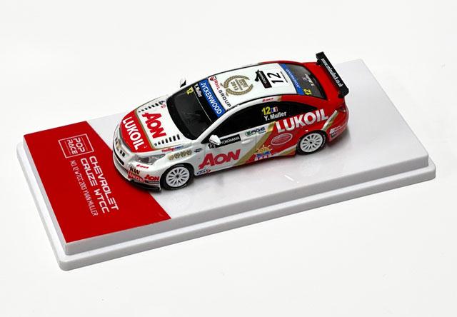 1/64 【台座付限定版】Chervolet Cruze WTCC No.12 WTCC 2013 Yvan Muller (Macau Livery) シボレー・クルーズ