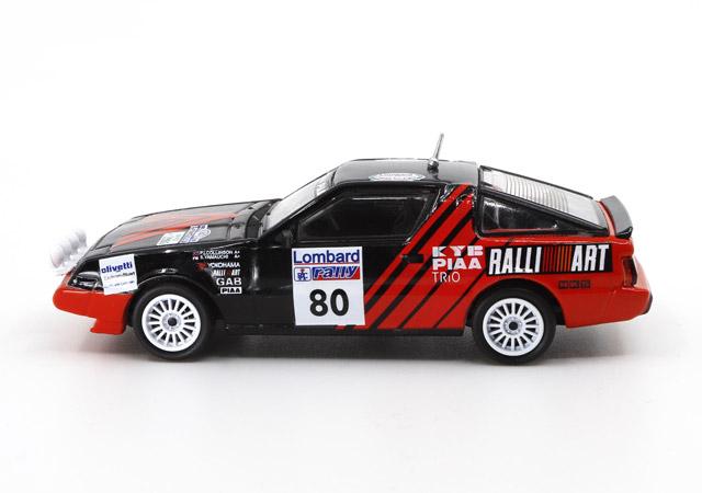 1/64 Mitsubishi Starion 1986 Lombard RAC Rally #80 三菱 スタリオン 1986年 ロンバード RACラリー 《予約7月》