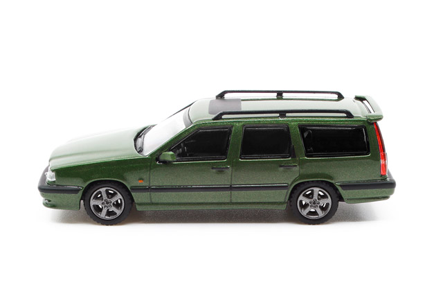 1/64 Volvo 850 Estate ボルボ 850 T-5R エステート オリーブ グリーンメタリック《予約8月》