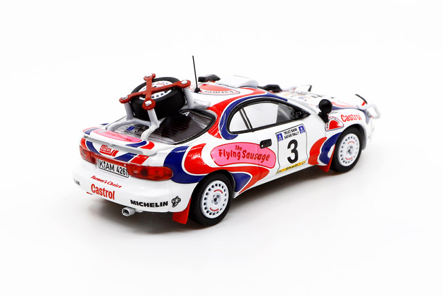 1/64 Toyota Celica GT-Four ST185 Safari Rally 1994 トヨタ セリカ GT-FOUR ST185 サファリラリー 1994 優勝車 #3 Ian Duncan/ David Williamson《予約8月》