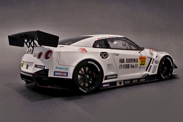 1/12 Nissan GT-R Nismo GT3, エヴァ RT X Works 初号機 #33 Super GT シリーズ 2019 (岡山テスト) S.Thong/M. Lee 《予約10月》