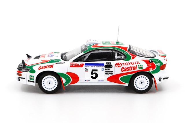 1/64 Toyota Celica - Rally New Zealand 1994 #5 トヨタ セリカ ラリー ニュージーランド 1994 トヨタ・カストロール・チーム No.5《予約10月》