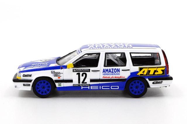 1/64 Volvo 850 24h Nurburgring 1996 Heico Motorsport #12 ボルボ 850 エステート ニュルブルクリンク24時間 1996 HEICOモータースポーツ No.12《予約10月》