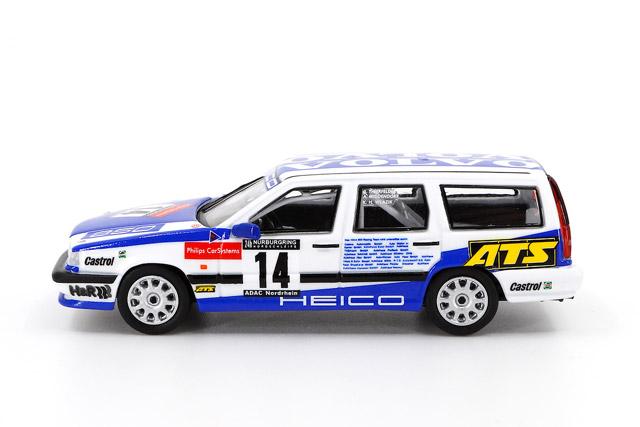 1/64 Volvo 850 24h Nurburgring 1995 Heico Motorsport #14 ボルボ 850 エステート ニュルブルクリンク24時間 1995 HEICOモータースポーツ No.14《予約10月》