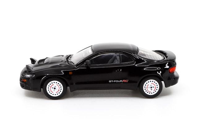 1/64 Toyota Celica GT-Four RC ST185 Black トヨタ セリカ GT-FOUR RC ST185 【ブラック】ディッシュホイール カスタム仕様《予約11月》