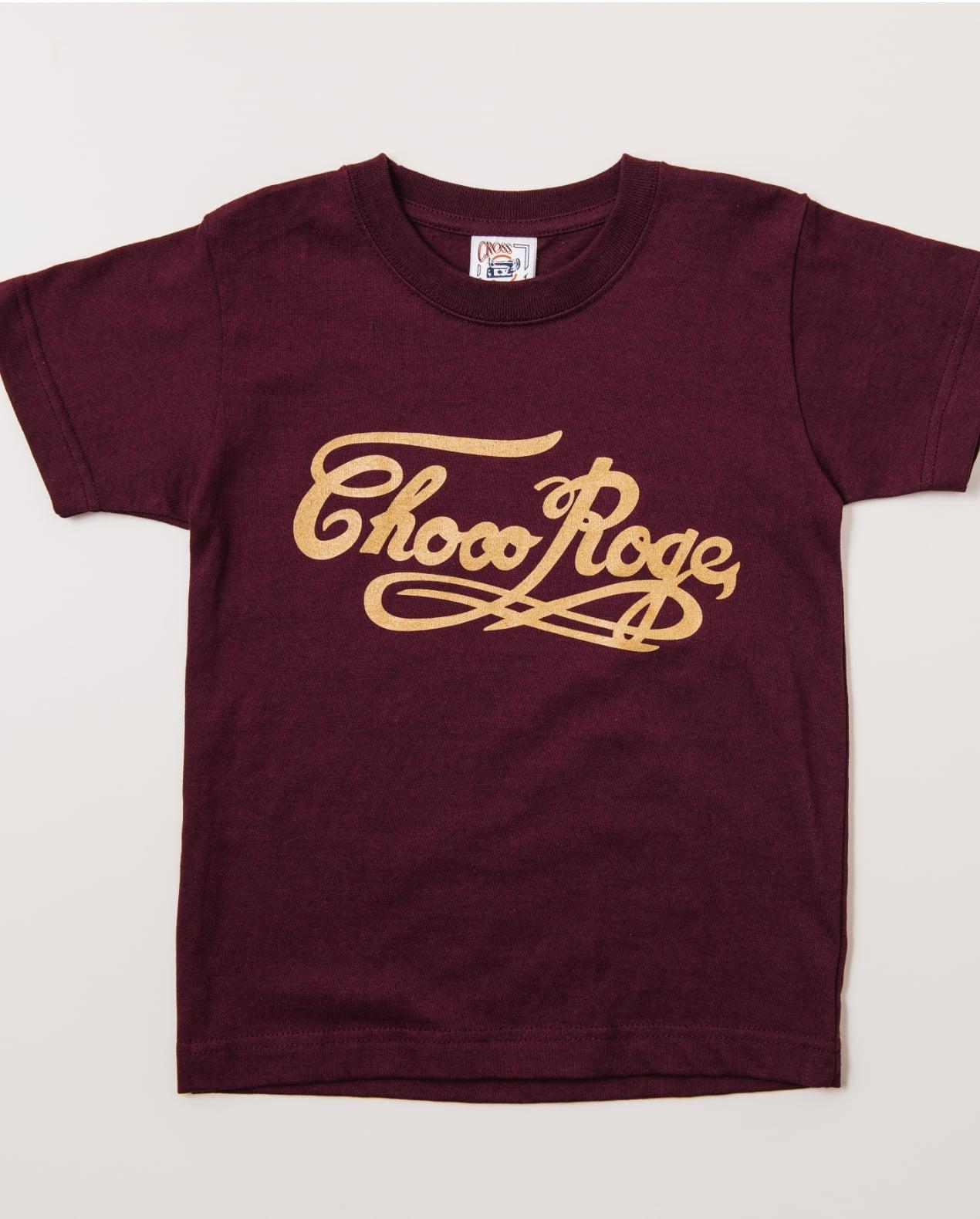 Tシャツ 大人用 茶色 サイズL