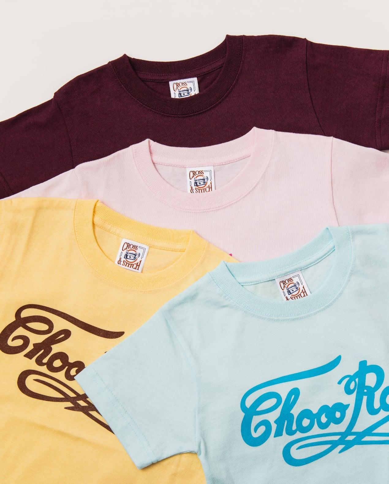 Tシャツ 大人用 水色 サイズL