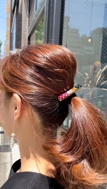 color swarovski hair tie