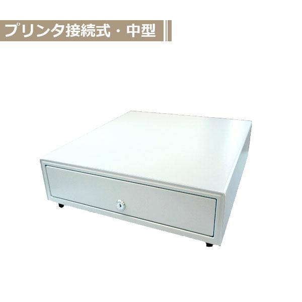 BC-423M-W モジュラーキャッシュドロア[中型]4B/6C 白 (日本製) ビジコム