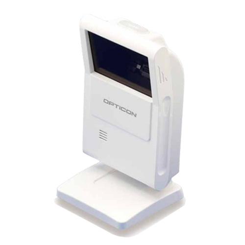 定置式2Dスキャナ M-10-USB-WHT USB ハンズフリー 抗菌仕様 オプトエレクトロニクス