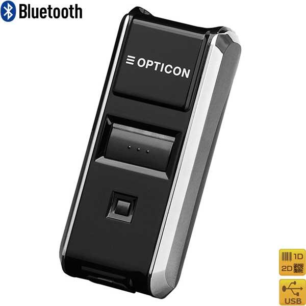 Bluetooth 2次元バーコードスキャナ  OPN-3102n-BLK  GS1対応 黒 OPTICON