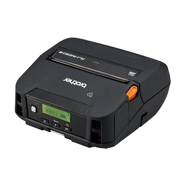 ブラザー ラベル・レシート兼用 感熱モバイルプリンター RJ-4230B (4インチ用紙対応/USB・Bluetooth)