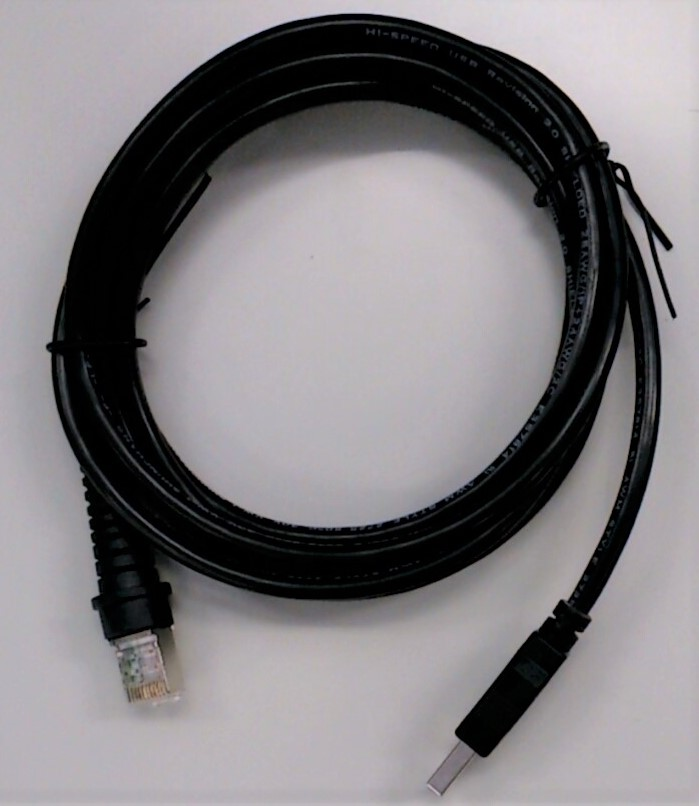 バーコードリーダーBC-NL1100U/2200U/3000U用 USBケーブル (2m) BC-NL-USB-CABLE BUSICOM
