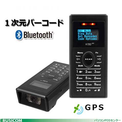 GPS搭載小型データコレクタ KDC350LG 1次元バーコード(レーザー・テンキー付き)KOAMTAC