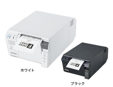 T702DT2603 サーマルレシートプリンタ ホワイト80mm幅対応(Ethernet)Intel Celeron搭載インテリジェントモデル