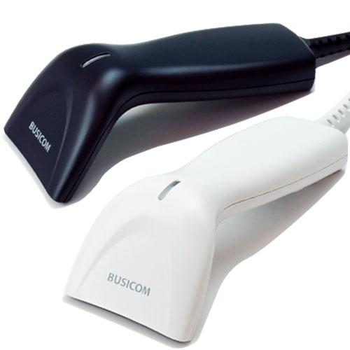 高性能CCDバーコードリーダー BCN-1200U-W-11 (短ケーブル1.1m・USB・ホワイト)1年保証 BUSICOM