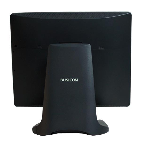 Win10搭載15インチタッチパネルPC Seav-15aII マットブラック 静電容量式 SSD128GB メモリ4GB