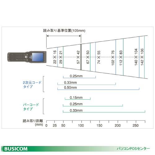 BHT-604QW ハンディターミナル 無線LAN 2次元・QR対応 BHT-600Qシリーズ